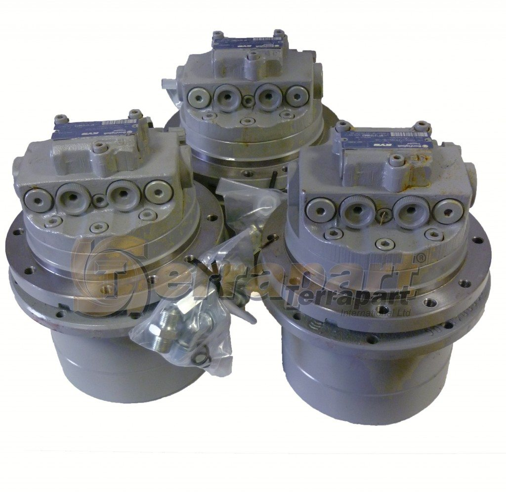 Case CX22B final drives with track motors